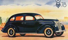 Matford V8-78 Grand Luxe (1937) (andreboeni) Tags: classic car automobile cars automobiles voitures autos automobili classique voiture retro auto oldtimer klassik classico classica publicity advert advertissement matford ford fordfrance v8 78