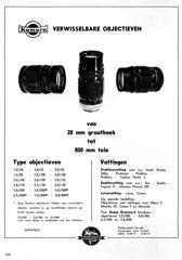 1964 Komura ad (Arne Kuilman) Tags: komura lenses lens madeinjapan ad advertentie 1964 focus magazine niprin fischel objectieven lenzen
