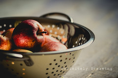 Just Apples... (DefinitelyDreaming) Tags: carlzeissjenna135mm apples fruit vintagelens food foodphotography manchesterfoodphotographer