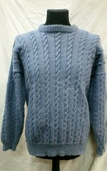 Cabled wool sweater (Mytwist) Tags: robmick920 mens poppets hollow thick cable wool jumper sweater aran style fashion vouge passion