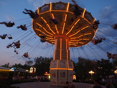 Carousel in Liseberg park Goteborg; Sweden (FEder Photography) Tags: carousel liseberg goteborg sweden sunset
