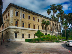 Palacio de la aduana Museo de Málaga (antonio santana SA) Tags: palacio palmeras aduana málaga siglo xviii museo antoniosantana arqueológico andalucía