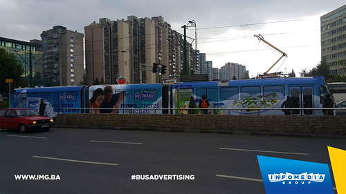 Info Media Group - Polimark, BUS Outdoor Advertising, Sarajevo 10-2016 (1)