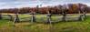 rail fence (kderricotte) Tags: hff railfence fence sonya6000 pano panorama sky clouds autumn fall foliage leaves grass 35mm18