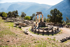 Delphi - Sanctuary of Athena Pronaea (Le Monde1) Tags: greece delphi greek sanctuary athena lemonde1 nikon d800e unesco worldheritagesite archaeological site roman ruins gods tholos templeofathena pronaea fluted columns