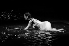 Lady of the Water (Rekishi no Tabi) Tags: macau dancer monochrome sony