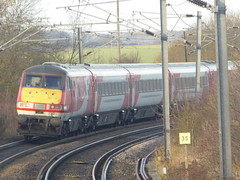82220 leaves Alnmouth (5/12/16) (*ECMLexpress*) Tags: virgin trains east coast 225 class 91 91124 82220 alnmouth for alnwick ecml