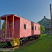 L&N Caboose at Etowah Railroad Depot