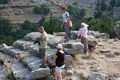 the locals trying to make a sale (mdoughty68) Tags: turkey ancient ruins roman turkiye historical selge