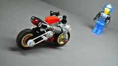 Caf Racer (updated version) (hajdekr) Tags: motion lego small racing motorbike help technic howto animation motorcycle vehicle easy update simple invention updated moc legotechnic myowncreation cafracer automobiletvgenre vehicleproductcategory