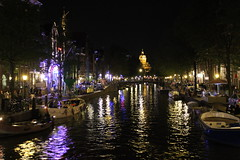 Amsterdam @ night