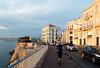 Marseille, France (AdamHGrimes) Tags: ocean city france water marseille mediterranean shore provence seasunset