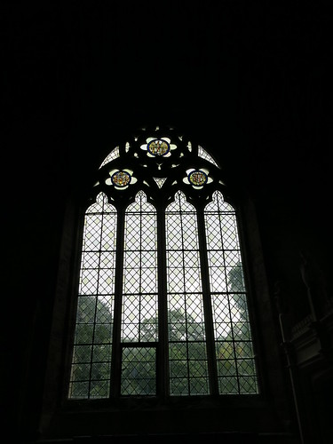 South window of south aisle
