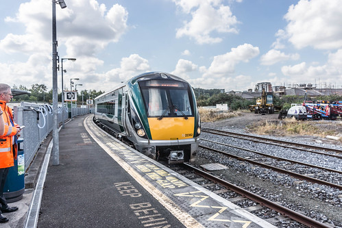 THE MINISTER PLUS PLATFORM 10 AND THE PHOENIX PARK RAILWAY TUNNEL [NOT FORGETTING IRISH RAIL STAFF] REF-107117