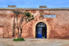 Rabat - Oudaya Kasbah (Rik Tiggelhoven Travel Photography) Tags: africa door travel building tree shop canon photography arch unesco morocco rik rabat 6d ef24105mmf4lisusm oudaia oudaya oudaias tiggelhoven