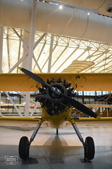 Boeing-Stearman N2S-5 Kayde (raphaelbrescia) Tags: museum virginia smithsonian museu aviation hangar boeing hazy chantilly udvar