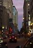 Rue Metclafe, Montréal (VdlMrc) Tags: street city light canada building car architecture skyscraper evening town construction nikon downtown montréal dusk lumière voiture québec soir rue crépuscule ville centreville batiment gratteciel sunlifebuilding 1000delagauchetière d7100 nikkormicro60mm