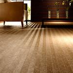 防滑性ビニル床材の写真