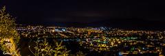 Belfort depuis la Miotte (Romain Guilhot) Tags: city canon pose exposure lumire ciel soir nuit 1740mm ville belfort eos40d