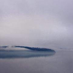 Sleeping Dragon (sally banfill) Tags: mist pugetsound vashonisland salishsea coastalphotography sallybanfill