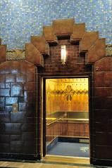 Art Deco Elevator (J-Fish) Tags: canada vancouver elevator lobby artdeco marinebuilding britishcolombia d300s 1685mmf3556gvr 1685mmvr