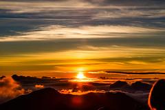 Haleakala Sunrise, Maui - 23 (www.bazpics.com) Tags: park cloud mountain monument rock clouds sunrise landscape volcano hawaii lava us rocks unitedstates cone maui busy national haleakala valley ash hi volcanic devastation cinder cindercone kula abovetheclouds devastated