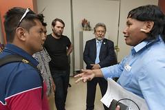 Secretário Antônio Alves Recebe Lideranças Xavante e Yanomami (Secretaria Especial de Saúde Indígena (Sesai)) Tags: brasília indígenas beto outubro angulo 2015 xavante índios secretário yanomami claúdio antônioalves
