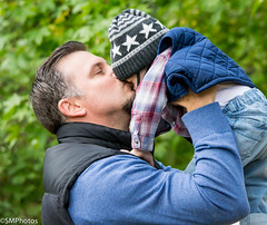 A Father's Love (SMPhotos2548) Tags: family portrait love leaves children infant dad child father nj son rahway
