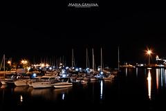 Taranto - Molo Sant'Eligio (Maria Gravina Fotografia) Tags: panorama italia mare barche pontedipietra puglia notte molo sud citt buio taranto illuminazione cittvecchia borgoantico tarantovecchia