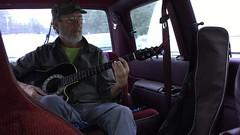 Cumfortably...waiting (Pierre♪ à ♪VanCouver) Tags: insidethecar saltspringisland canada pinkfloydsong comfortablynumb guitar guitare guitara longharbour ferryterminal