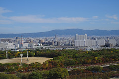 View from Osaka Castle, , , saka-j Ch-ku, Osaka, Japan (Caroline) Tags: castle japan osaka   sakaj chku