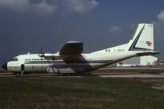 F-BUFQ (Air France) (Steelhead 2010) Tags: cargo airfrance aeropostale freg mbb transall c160 aerospatiale ory fbufq