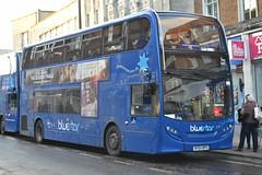 Go South Coast Bluestar 1604 HF64BPO (Will Swain) Tags: county city uk travel november england bus buses coast britain south centre go transport hampshire southern vehicles vehicle southampton bluestar seen 7th 2015 1604 hf64bpo