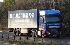 DAF XF Euro 6 - SHETLAND TRANSPORT Lerwick (scotrailm 63A) Tags: trucks shetland lorries