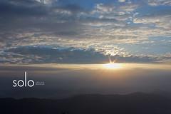 Beautiful Sunrise at Binsar (Anubhav Kochhar) Tags: morning travel sky india beautiful clouds sunrise canon wow amazing paradise peace indian awesome earlymorning best efs cloudscape isolated binsar kumaon uttarakhand kmvn canoneos60d indiantraveller soloindiantraveller anubhavkochhar airingbyway