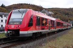 DB Diesel motor trainset N 620.010  in Bad Mnstereifel. (Franky De Witte - Ferroequinologist) Tags: de eisenbahn railway estrada chemin fer spoorwegen ferrocarril ferro ferrovia