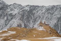 Gergeti Trinity Church, Kazbegi (Alban Mirabaud) Tags: travel mountain snow church canon georgia kazbegi gergeti gergetitrinitychurch canon5dmarkiii stepansminda canon5dmiii canon5dmark3 stephansminda canon5dm3 travelthinkdifferent