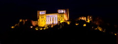Leiria castle by night (Portugal) (armxesde) Tags: castle portugal night pentax ricoh leiria burg k3 kastell