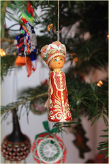 Russia (Mabacam) Tags: christmas decorations doll russia ornaments tradition custom christmastreedecorations treedecorations