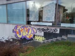 graffiti season ain't over yet (Thomas_Chrome) Tags: street streetart streets art suomi finland graffiti europe can spray illegal vandalism nordic walls tampere bombing throwup