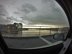 Side View (Colin Kavanagh) Tags: bridge ireland water car clouds river wicklow arklow gopro