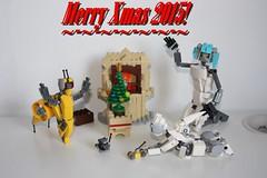 Merry Xmas 2015 !(15) (Loysnuva) Tags: christmas xmas tree fireplace lego system mecha mocs moc loys nuva icya bionifigs loysnuva mihibot bizibot
