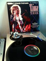 Tina Turner - I Can't Stand the Rain (DJ Zyron) Tags: music dj vinyl turntable record tinaturner maxisingle
