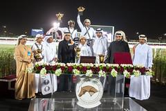 صورة جماعية للفائزين الاربع الاوائل (Qatar National Day) Tags: درب سباق المسيلة الساعي اليومالوطنيقطر قطر18ديسمبر 18decqatar qnd2015