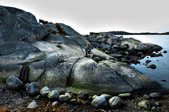 Morning rocks! [Explored 2015-12-15] (Jan Thomas Landgren) Tags: morning sea nature water göteborg landscape coast sweden sony gothenburg natur cliffs explore coastline sverige bohuslän explored amundön