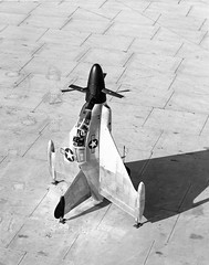 SDASM Aircraft Image (San Diego Air & Space Museum Archives) Tags: convair xfy1 vtol turboprop tailsitter aircraft fighter