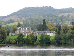 Cruising Loch Lomond in the rain #4 (jimsawthat) Tags: rain cruise manor lake loch lochlomond uk rural unitedkingdom scotland