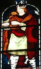 [45667] St Editha, Tamworth : Marmion Windows (Budby) Tags: tamworth staffordshire church window stainedglass preraphaelite