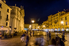 At Night (kos Fekete) Tags: bassano night italy nightphotography longexposure lights square autumn fall 2016 september people city town evening sony sonyalpha6000 alpha a6000 ilce6000 ilce selp1650 1650pz mirrorless milc csc emount evil europe exposure nex vacation lamp shops shop nice beautiful atmosphere