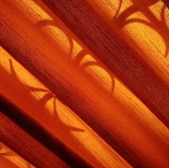 -- (maggy le saux) Tags: diagonal rideau cortina orange naranjo iron ferforg window fentre ventana tissu tela curtain
